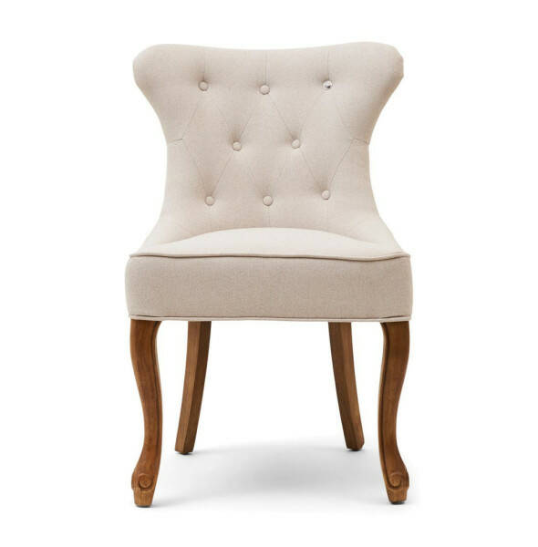 George Dining Chair, Flanders Flax
