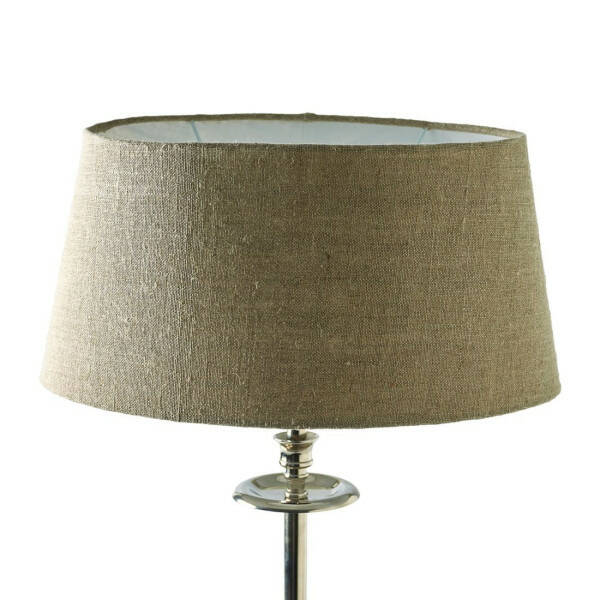 Fabulous Oval Lampshade Flax 23x33