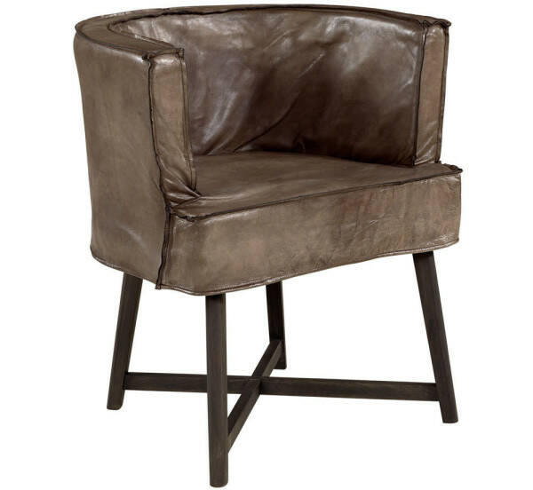 Artwood Monique Armchair, Buffalo Leather Lampre