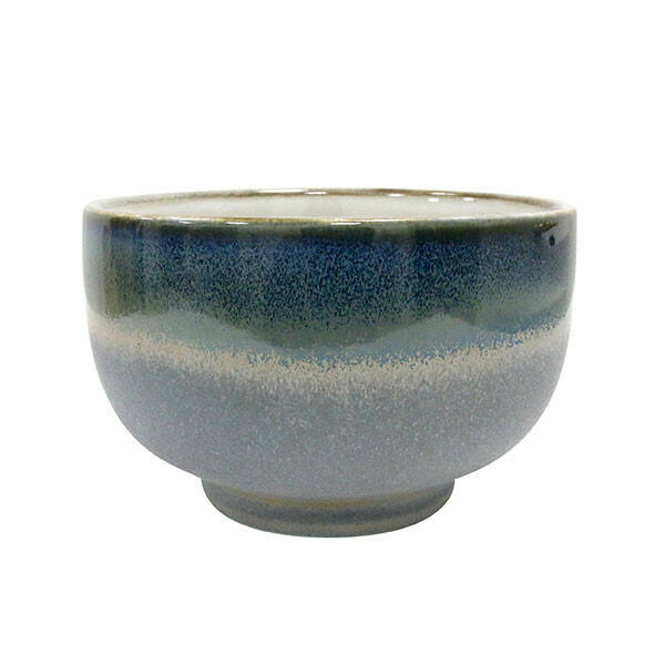 HK Living Ceramic 70s Bowl, Ocean, 500ml