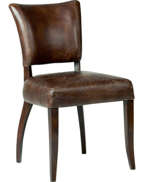 Artword Mimi Diningchair, Vintage Leather Cigar