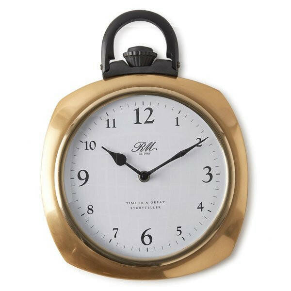 Wanduhr Time Is A Great Storyteller Pocket Watch