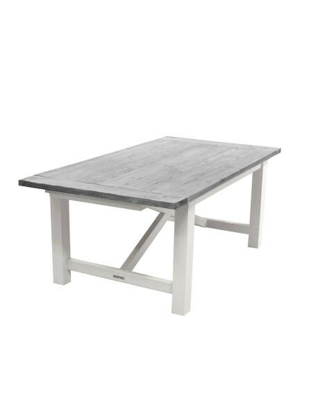 Ocean House Dining table Edward Classic, grey top
