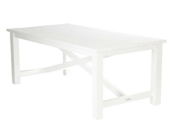 Ocean House Dining Table Edward Classic, White