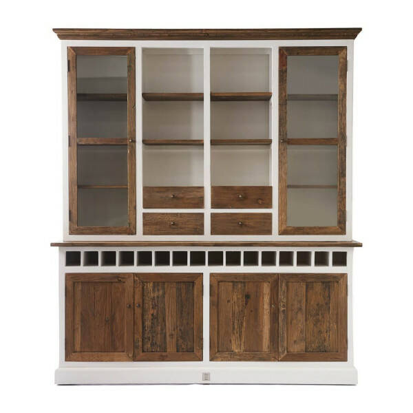 Rivièra Maison Driftwood Cabinet with Winerack Double