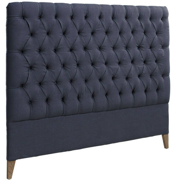 Artwood London Headboard, Linen Indigo 180x140