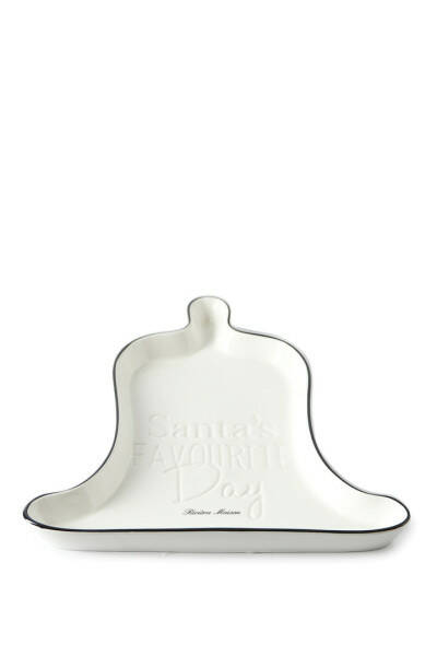 Riviera Maison Santa's Favourite Day Bell Plate