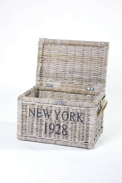 das apartment Trunk Koboo Grey 'New York' 55x37x35cm