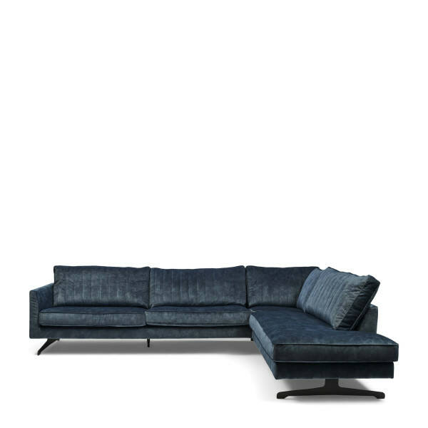 Eck-Sofa The Camille rechts, Samt