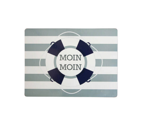 Placemat cork, Moin Moin, grey
