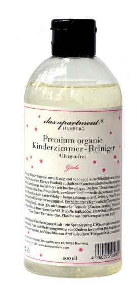 Premium organic Kinderzimmer-Reiniger Girls - 500ml