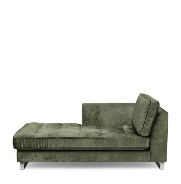 Chaiselongue West Houston links Samt TrafGre