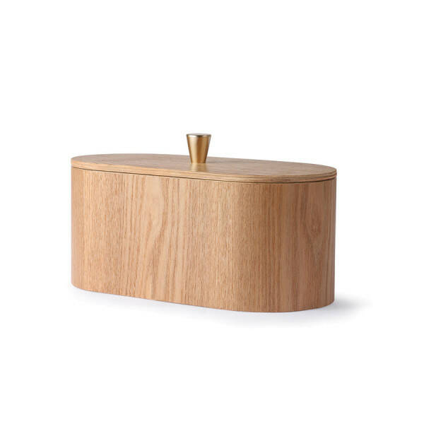 Weidenholzbox mit Deckel