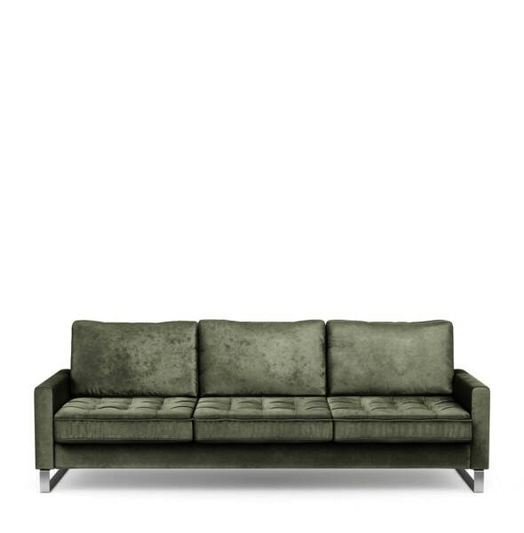 Sofa 3,5 Sitzer West Houston Samt