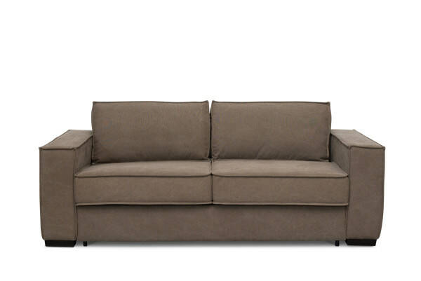 das apartment collection Turner Schlafsofa, Washed Cotton, Khaki