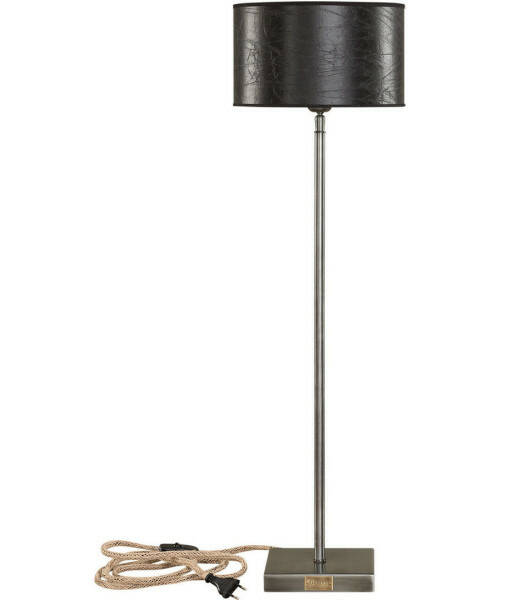 Artwood Pewter High Lampstand, Iron
