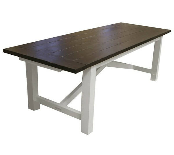 Ocean House Dining Table Edward Classic, Lodge Top